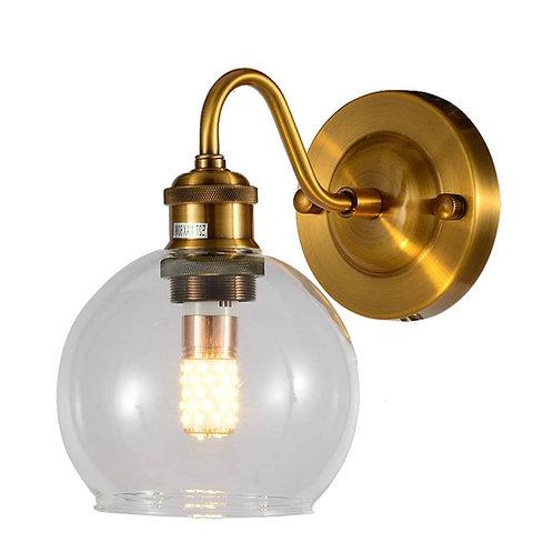 מנורת קיר כדור פליז