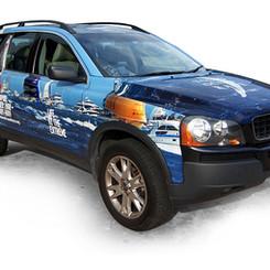 Volvo Ocean Race Car Decal