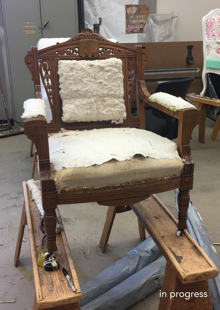 Reinventing Furniture_Chair In Progress
