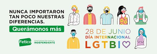Fetico apoya el Dia del Orgullo LGTBI