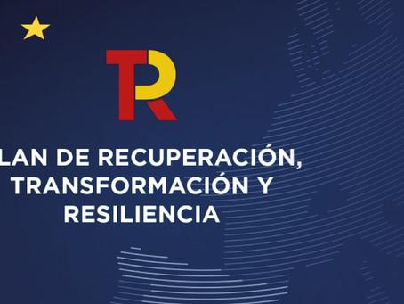 """La C. Europea ha aprobado, el   """"Plan de Recuperación, Transformación y Resiliencia de España"""