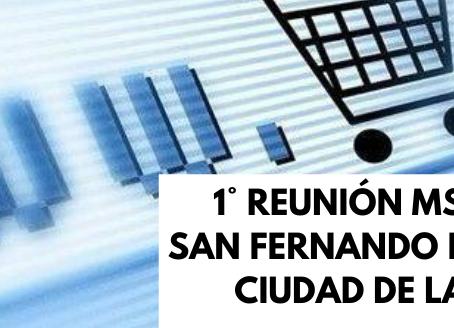 1° Reunión MSCT Online San Fernando de Henares y Ciudad de la Imagen