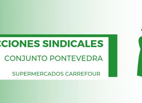 Elecciones Supermercados Carrefour Conjunto Pontevedra
