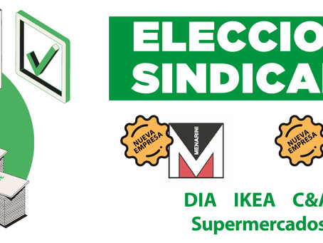 Fetico suma 35 delegados/as y entra en Dominos Pizza y Menarini.