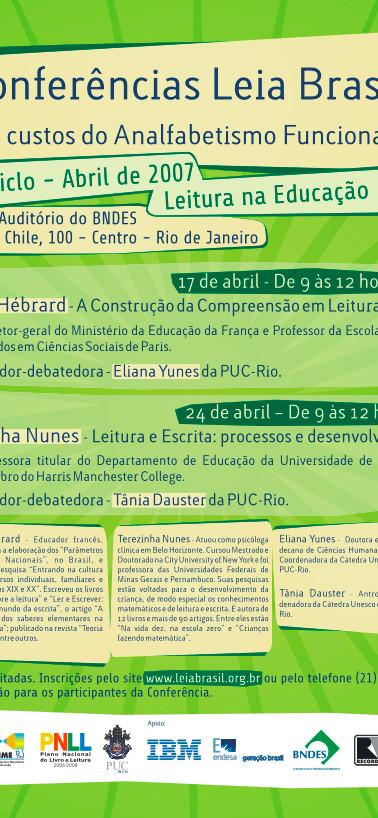 Conferências Leia Brasil