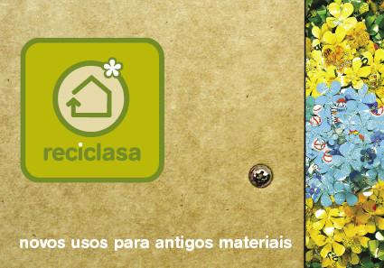 Logo e paginação da Reciclasa