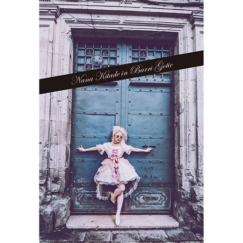 POST CARD BOOK「Nana Kitade in Barri Gotic」