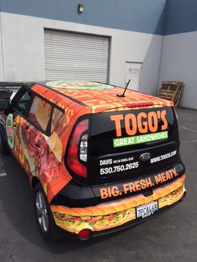 Togo's Vehicle Wrap