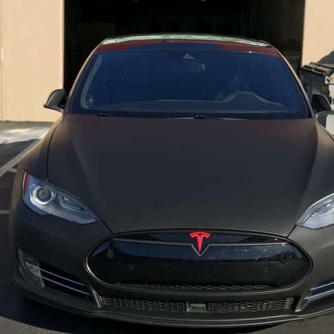 Tesla Color change from White