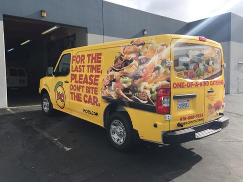 Full Van Wrap for a NV Cargo Van