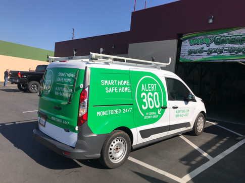 Partial Van Wrap for Central Security Group