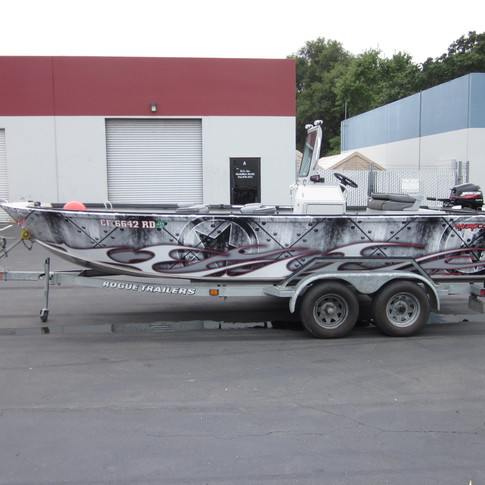 Fishing Boat Wrap