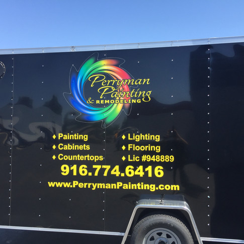 Enclosed Trailer Wrap