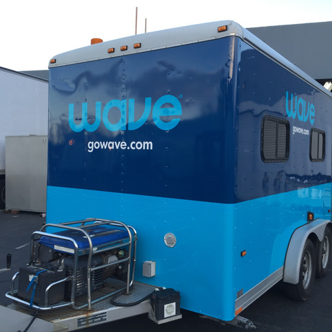 Wave Broadband Trailer Wrap