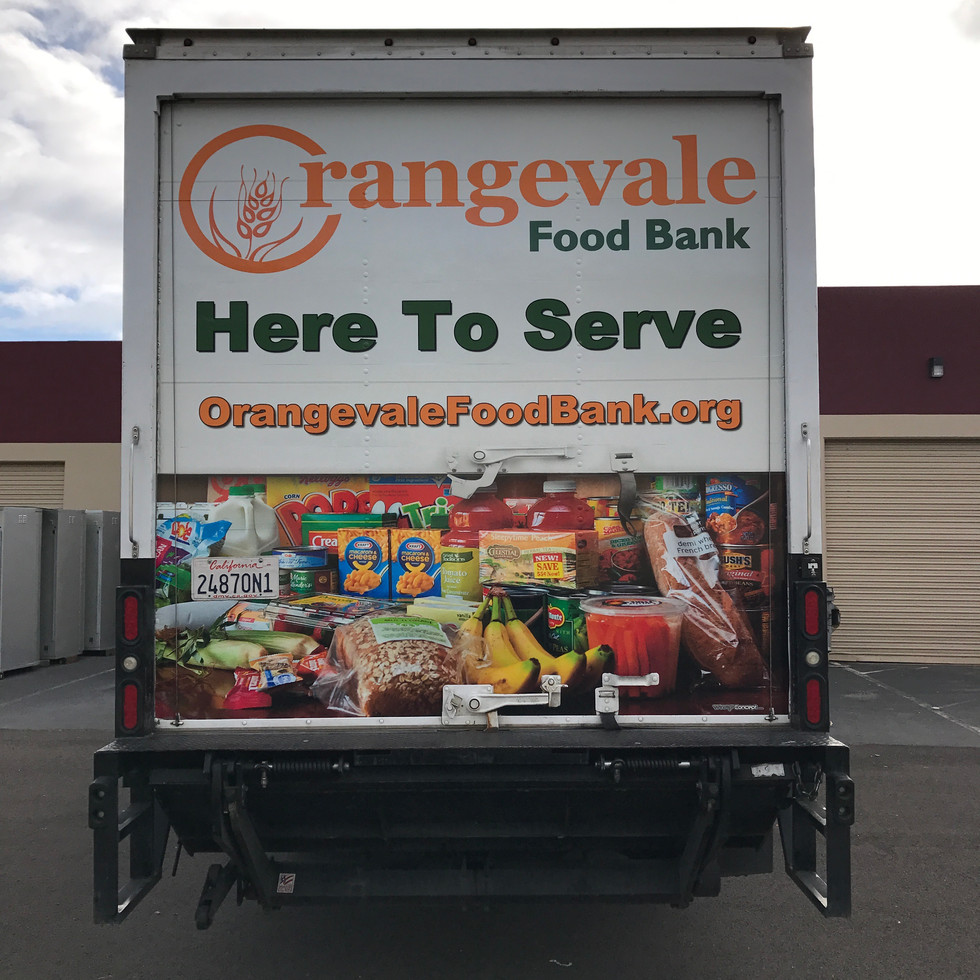 ORANGEVALE FOOD BANK