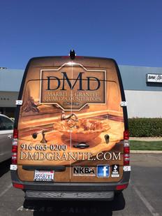 DMD Granite Van Wrap