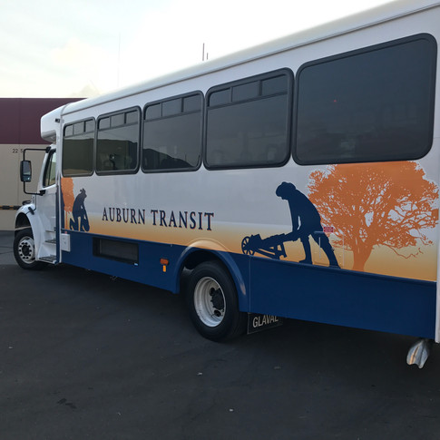 CITY OF AUBURN BUS WRAP