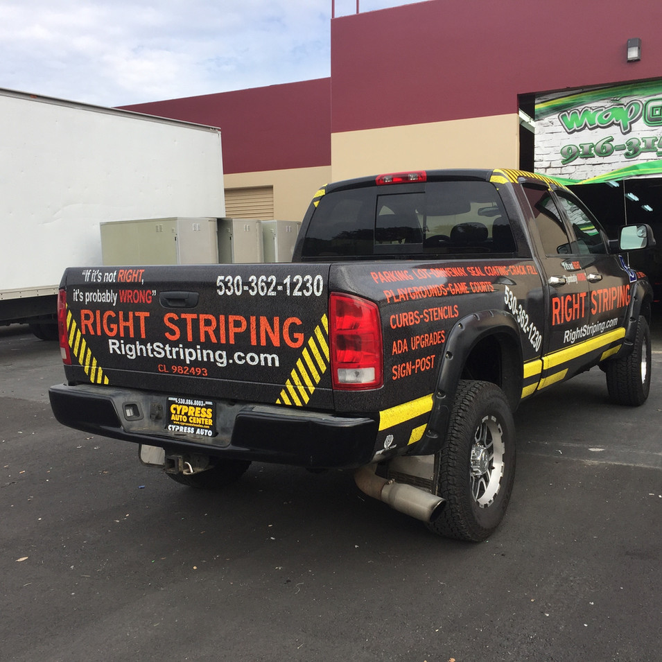 Dodge Truck Wrap
