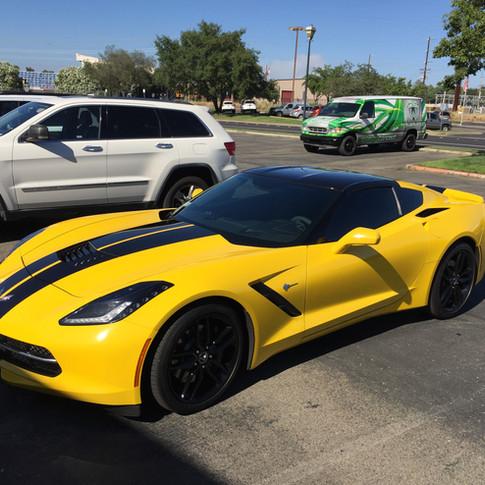 Corvette Stripping