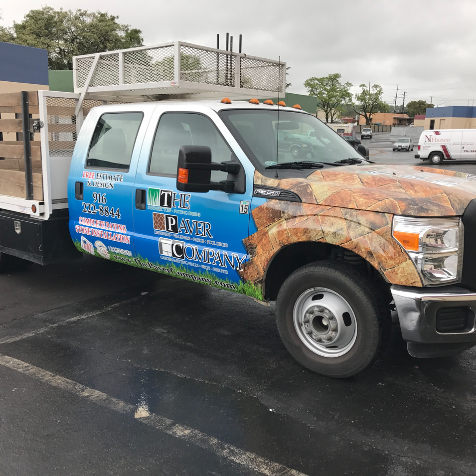 Ford Truck Wrap