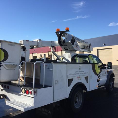 Century Lighting Bucket Truck Wrap