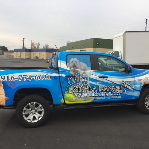 Chevrolet Colorado Truck Wrap