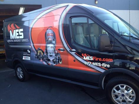 Ford Transit 148 Van Wrap