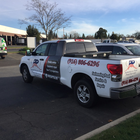 Toyota Tundra Partial Wrap