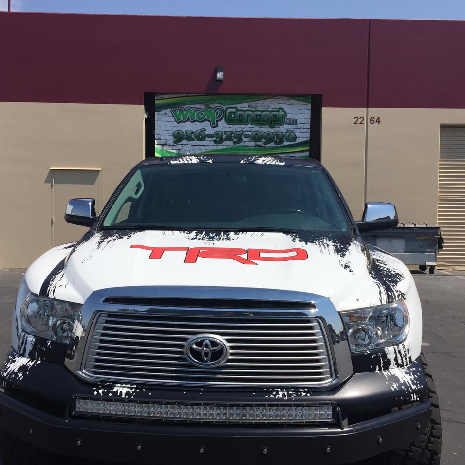 Trophy Truck Wrap