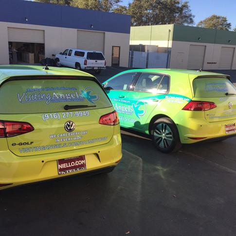 VW Golf Wrap