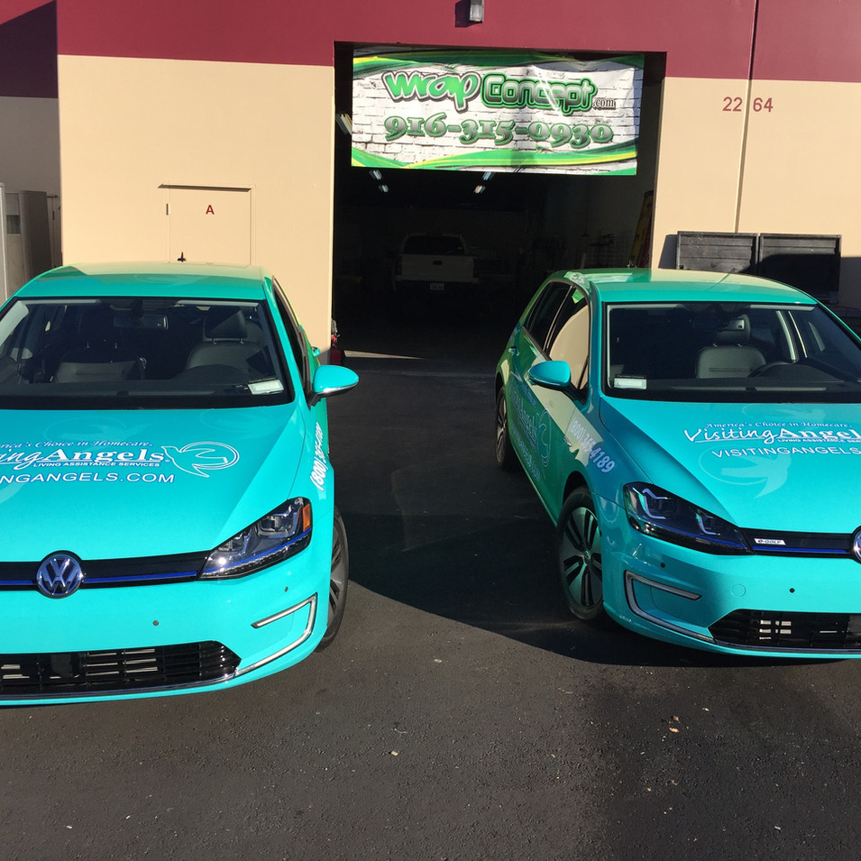 VW eGolf Wrap