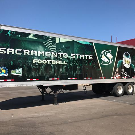 Sacramento State Semi Wrap