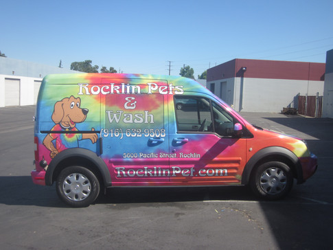 Full Wrap for a Ford Connect Van