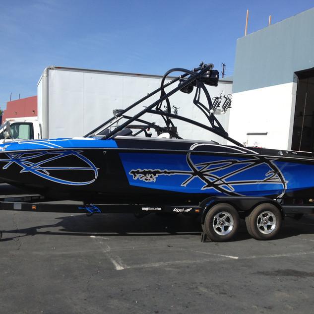 Wakeboard Boat Wrap