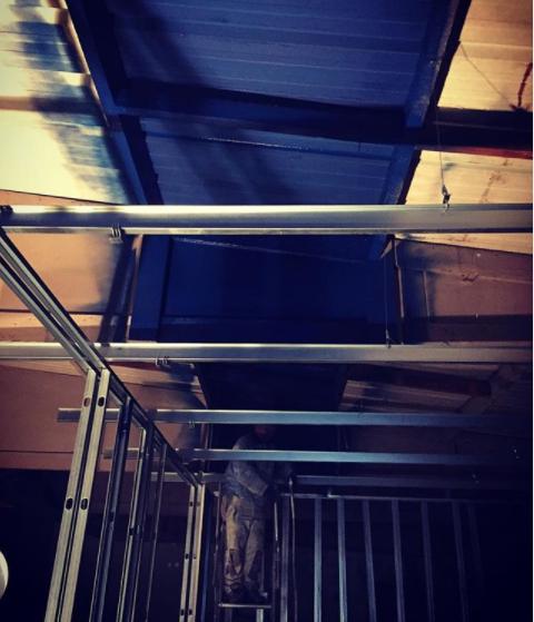 Mise en peinture du plafond