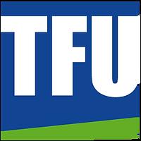 Logo TFU GmbH. Linkziel: www.tfu.de