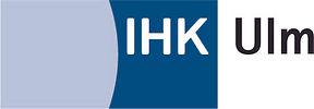 Logo Industrie- und Handelskammer Ulm. Verlinkung zu www.ulm.ihk24.de