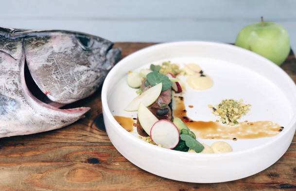 Fish dish BijBlauw