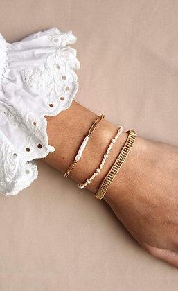 A LA - Gold beads bracelet