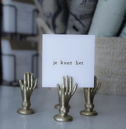 IKPAKJEIN (NL) - Mini Postcard Je kunt het