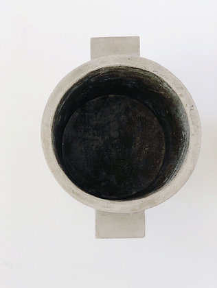 Concrete plant pot - 25cm