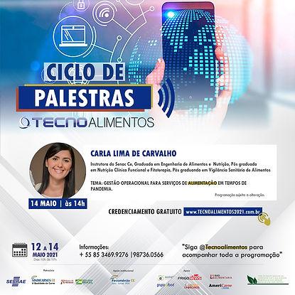 card CARLA PALESTRAS TECNO VIRTUAL 2021