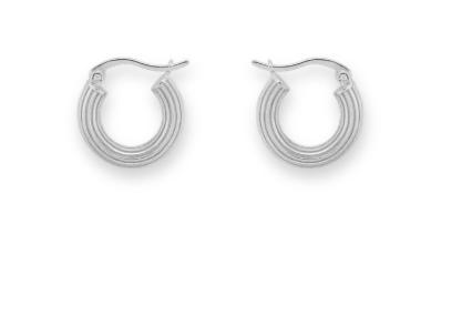 ANNA+NINA - Pyramid ring earrings