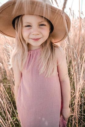LOVT - Summer dress old pink