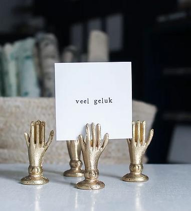 IKPAKJEIN (NL) - Mini Postcard Veel geluk