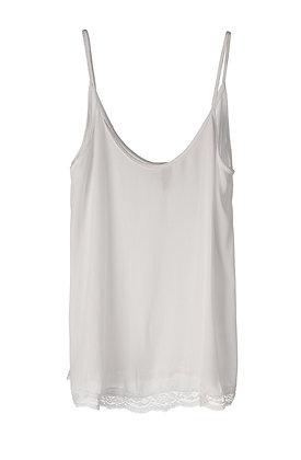 BRAEZ - Lacey top white