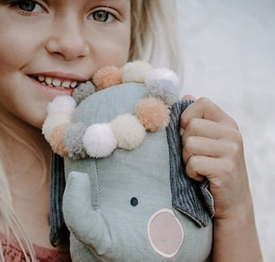 PICCA LOULOU - Elephant in gift box