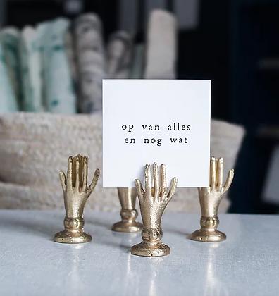 IKPAKJE IN (NL) - Mini Postcard Op van alles en nog wat