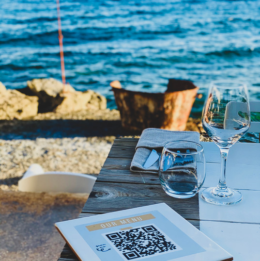 Our QR menu