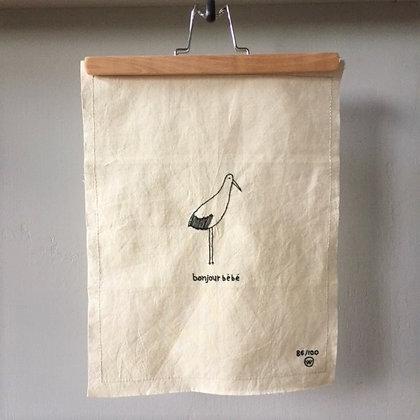 LEMONWISE - Stiched art bonjour bébé